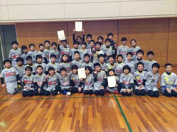 加賀市フットサル大会高学年の部