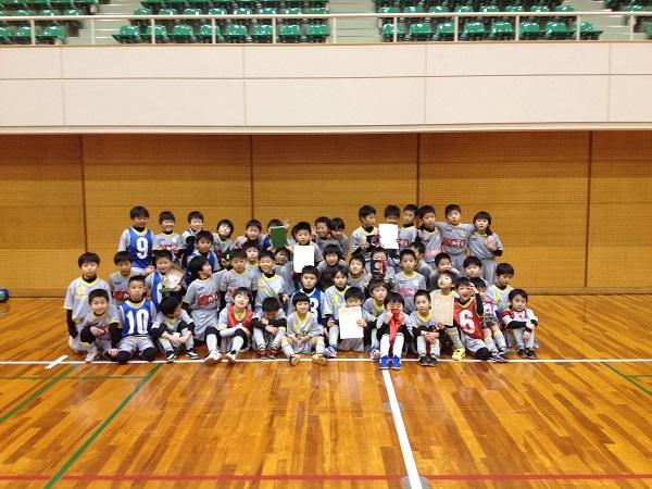 加賀市フットサル大会 低学年の部