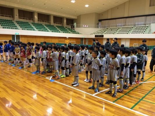 低学年加賀市フットサル大会