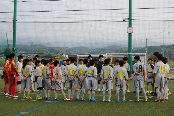 2015年度U15アカデミー春季合宿