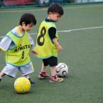 【キッズサッカースクール】3~6歳サッカーを始めるには早い?-いいえ、そんな事ありません。
